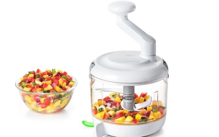 Wichtig war den Entwicklern bei der Konzeption dieser nachhaltigen Küchenmaschine sowohl die Sicherheit als auch der Komfort bei der Anwendung.